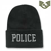 [Rapid Dominance] Military / Law Long Beanies Police (Black) - 라피드 도미넌스 폴리스 롱비니 (블랙)