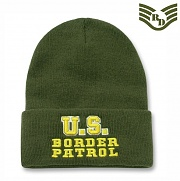 [Rapid Dominance] Military / Law Long Beanies Border Patrol (Olive) - 라피드 도미넌스 국경 수비대 롱비니 (올리브)