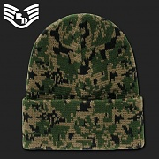 [Rapid Dominance] Cuff Beanies Watch Caps (Woodland Digital) - 라피드 도미넌스 비니 (우드랜드 픽셀)