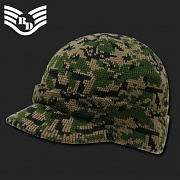 [Rapid Dominance] Camouflage Jeep Caps/Visor Beanies (Woodland Digital) - 라피드 도미넌스 짚 비니 (우드랜드 픽셀)