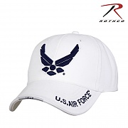 [Rothco] Deluxe New Wing Air Force Pro Cap (White) - 로스코 에어포스 윙 캡 모자 (화이트)