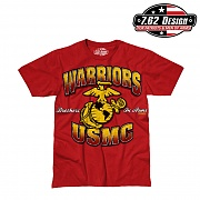 [7.62 Design] Man T Shirt USMC Warriors - 7.62디자인 맨 티셔츠 USMC 워리어스