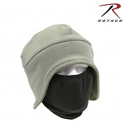 [Rothco] Convertible Fleece Cap And Polyester Face Mask (FG) - 로스코 컨버터블 플리스 캡 (마스크 포함/FG)