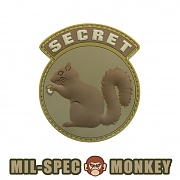 [Mil-Spec Monkey] Secret Squirrel PVC (Desert) - 밀스펙 몽키 시크릿 스쿼럴 PVC 0008 (Desert)