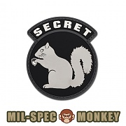 [Mil-Spec Monkey] Secret Squirrel PVC (SWAT) - 밀스펙 몽키 시크릿 스쿼럴 PVC 0008 (SWAT)