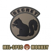 [Mil-Spec Monkey] Secret Squirrel PVC (ACU DARK) - 밀스펙 몽키 시크릿 스쿼럴 PVC 0008 (ACU DARK)
