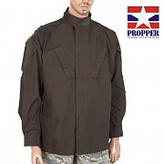 [Propper] Tac U Coat 65P/35C (Brown)- 프로퍼 Tac U 셔츠 (브라운)