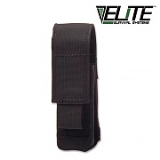 [Elite Survival Systems] MOLLE Flashlight Pouch (Black) - 몰리 플래쉬 파우치 (블랙)