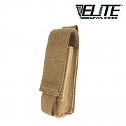 [Elite Survival Systems] MOLLE Flashlight Pouch (Coyote) - 몰리 플래쉬 파우치 (코요테)