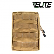 [Elite Survival Systems] MOLLE General Utility Medium Pouch (Coyote) - 몰리 미디엄 유틸리티 파우치 (코요테)