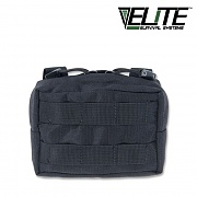 [Elite Survival Systems] MOLLE General Utility Small Pouch (Black) - 몰리 스몰 유틸리티 파우치 (블랙)