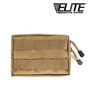 [Elite Survival Systems] MOLLE General Utility Small Pouch (Coyote) - 몰리 스몰 유틸리티 파우치 (코요테)