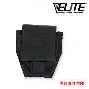 [Elite Survival Systems] MOLLE Cuff Pouch (Black) - 몰리 호신용 수갑 파우치 (블랙)