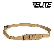[Elite Survival Systems] Single Point Tactical Sling With Bungee (Coyote) - 싱글 포인트 택티컬 슬링 (코요테)