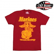 [7.62 Design] Man T Shirt USMC Retro - 7.62디자인 맨 티셔츠 USMC 레트로