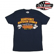 [7.62 Design] Man T Shirt USMC History - 7.62디자인 맨 티셔츠 USMC 히스토리