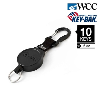 [WCC] Key-Bak 36inch Mid Size Polyester Cord Carabiner - 키백 36인치 미디움 사이즈 카라비너