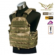 [Flyye] The New LT6094 Vest  (A-TACS) - 플라이예 The New LT6094 베스트 (A-TACS)