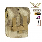 [Flyye] Molle M249 200Rds Ammo Pouch (A-TACS) - 플라이예 몰리 M249 Ammo 파우치 (A-TACS)