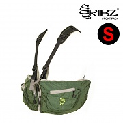 [Ribz] New Front Pack Small (Green) - 립즈 New 프론트팩 스몰 (그린)