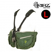 [Ribz] New Front Pack Large (Green) - 립즈 New 프론트팩 라지 (그린)