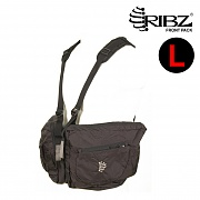 [Ribz] New Front Pack Large (Black) - 립즈 New 프론트팩 라지 (블랙)