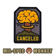 [Mil-Spec Monkey] Canceled PVC (Color) - 밀스펙 몽키 캔슬 PVC 패치 (컬러)
