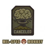 [Mil-Spec Monkey] Canceled PVC (Multicam) - 밀스펙 몽키 캔슬 PVC 패치 (멀티캠)