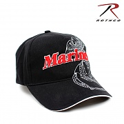 [Rothco] Deluxe Marines G&A Low Profile Insignia Cap - 로스코 디럭스 마린 앵카 로우 프로파일 캡 모자
