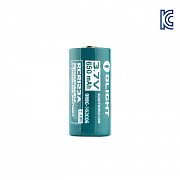 [Olight] 16340 RCR123A Battery (650mAh) - ������Ʈ 16340 RCR123A ����� ���͸� (650mAh)
