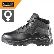 [5.11 Tactical] ATAC 6 Side Zip Boot Women (Black) - 5.11 택티컬 A.T.A.C. 6 사이드 짚 부츠 우먼 (블랙)