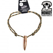 [2Monkey] 50Cal BMG Paracord Necklace (Camo) - 2몽키 50Cal BMG 파라코드 목걸이 (카모)