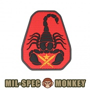 [Mil-Spec Monkey] Scorpion Unit PVC (Color) - 밀스펙 몽키 스콜피온 유닛 PVC (컬러)