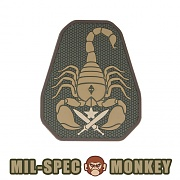 [Mil-Spec Monkey] Scorpion Unit PVC (Multicam) - 밀스펙 몽키 스콜피온 유닛 PVC (멀티캠)