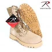 [Rothco] GI Type Sierra Sole Tactical Boots (TAN) - 로스코 GI 스타일 정글 부츠 (TAN)