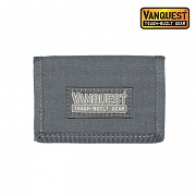 [Vanquest] Vault 2.0 RFID Blocking Security Wallet (Wolf Gray) - 벤퀘스트 볼트 2.0 RFID 블로킹 시큐리티 월렛 (울