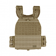 [5.11 Tactical] TACTEC Plate Carrier (Sandstone) - 5.11 택티컬 TACTEC 플레이트 캐리어 (샌드스톤)
