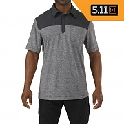 [5.11 Tactical] Rapid Short Sleeve Polo (Volcanic) - 5.11 택티컬 라피드 반팔 폴로 (볼케닉)