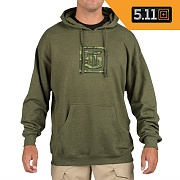 [5.11 Tactical] Lock Up Hoodie (Fatigue) - 5.11 택티컬 락업 후디 (패티그)