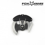 [Fox Knife] 2 ULU Outdoor Tool (Black) - 폭스나이프 2 ULU 아웃도어 툴 (Black)
