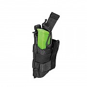 [5.11 Tactical] Double Pistol Bungee Cover (Black) - 5.11 택티컬 더블 피스톨 번지 커버 (블랙)