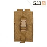 [5.11 Tactical] Strobe GPS Pouch (FDE) - 5.11 택티컬 스트로브 GPS 파우치 (FDE)