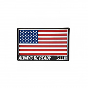 [5.11 Tactical] USA Patch (Red) - 5.11 택티컬 USA 패치 (레드)