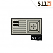 [5.11 Tactical] Short Stack Patch (Double Tap) - 5.11 택티컬 숏 스택 패치 (더블 탭)