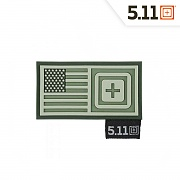 [5.11 Tactical] Short Stack Patch (OD Green) - 5.11 택티컬 숏 스택 패치 (OD 그린)