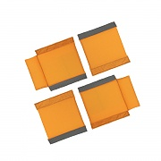 [Vanquest] 4.5inch Wide Assorted Divider Pads 4 Pack - 벤퀘스트 4.5인치 와이드 어소터드 디바이더 패드 4팩